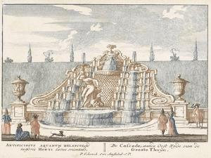 Fountain in the garden of Het Loo Palace, 1694-97 by Jan I van Call