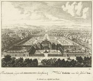 View of Het Loo Palace, 1694-97 by Jan I van Call