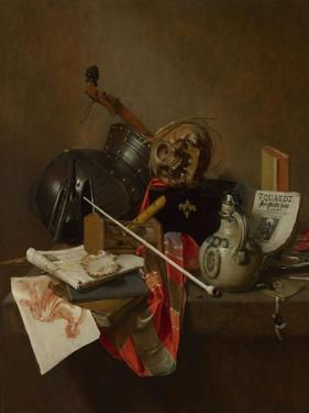Vanitas Still Life, 1648 by Jan Jansz Treck