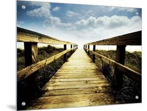Boardwalk Leading to the Sky by Jan Lakey
