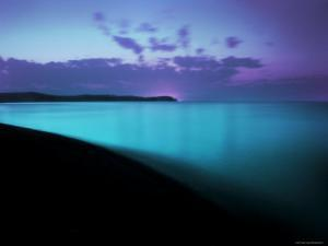 Glowing Turquoise Blue Waters by Jan Lakey