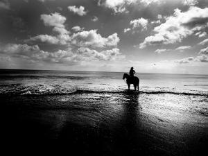 Horseback Riding in the Tide by Jan Lakey
