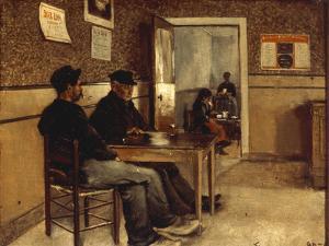 A Cafe Scene, 1890 by Jan Lodewijk Moerman