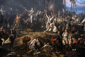 Kosciuszko in the Battle of Raclawice, 1794, 1888 by Jan Matejko