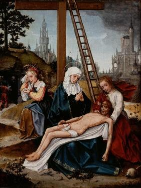 Lamentation, C.1510-15 by Jan Provoost