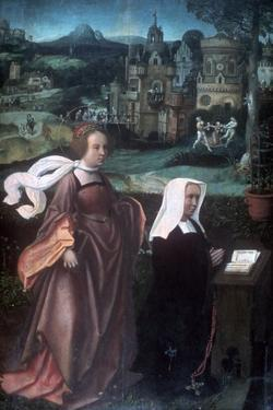 Saint Godelieve, C1485-1529 by Jan Provoost