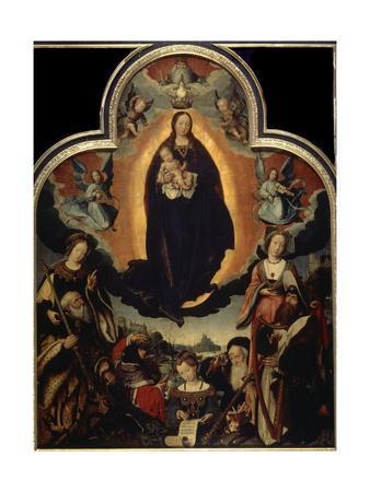 'The Glorification of the Virgin', 1524