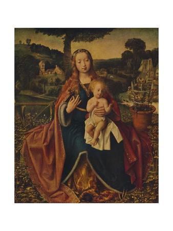 'The Virgin and Child in a Landscape', c1520