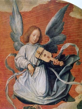 The Virgin in Glory, (Detail), 1524