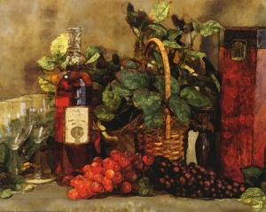 Wine Tasting I by Jan Shade Beach