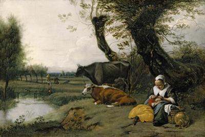 Pastoral Scene, c.1667-1668 by Jan Siberechts