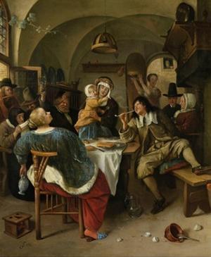Family Scene, 1660-79 by Jan Steen