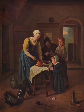 'Grace Before Meat', c1665, (c1915) by Jan Steen
