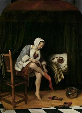 Woman at Her Toilet, 1655-60 by Jan Steen