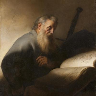 Apostle Paul, 1627-9 by Jan The Elder Lievens