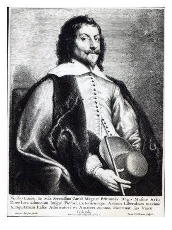 Nicholas Lanier, Engraved by Lucas Vostermans