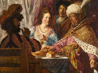 The Feast of Esther, c.1625