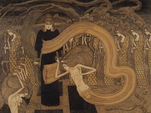 Fatality, 1893 by Jan Theodore Toorop