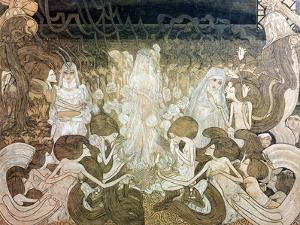 The Three Fiancees by Jan Theodore Toorop