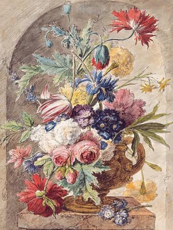 Flower Still Life, Ca 1734
