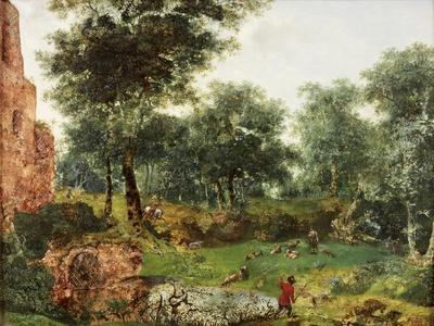 Wooded Landscape, C.1690-1700