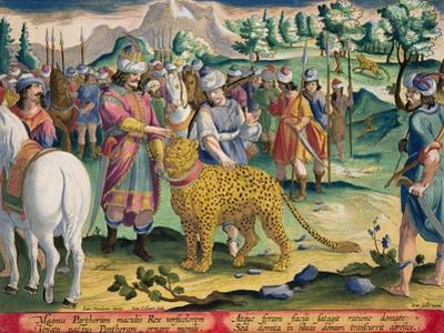 Great King of the Parthians Hunts, Plate 9 Venationes Ferarum, Avium, Piscium