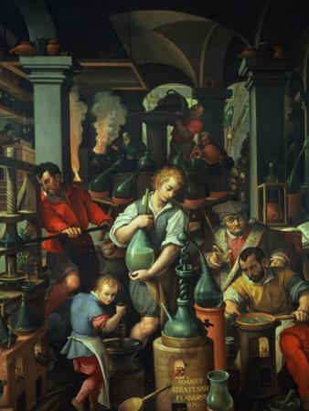 The Alchemist's Workshop, 1570
