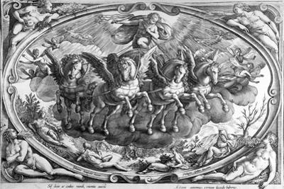 The Four Seasons, Engraved by Philip Galle, C.1580
