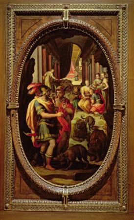 Ulysses, Mercury and Circe, 1570
