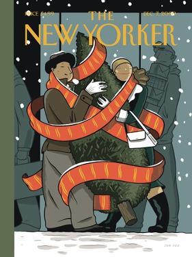 The New Yorker Cover - December 7, 2009 by Jan Van Der Veken