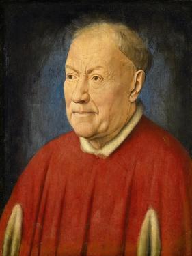 Cardinal Niccol• Albergati by Jan van Eyck