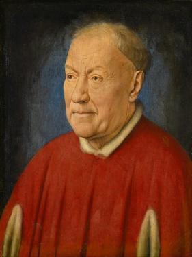 Cardinal Niccolò Albergati (1375-144), Ca 1435 by Jan van Eyck