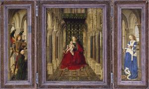 Fluegelaltaerchen by Jan van Eyck