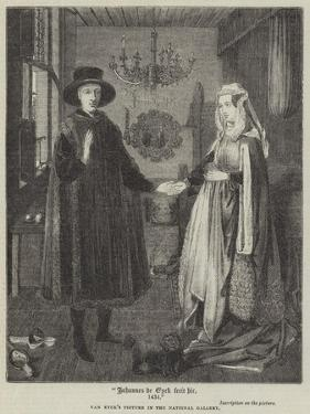 Johannes De Eyck Fecit Hic, 1434 by Jan van Eyck