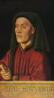 'Portrait of a Man ('Léal Souvenir')', 1432, (1909) by Jan Van Eyck
