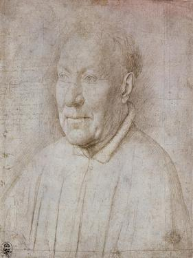 Portrait of Cardinal Nicola Albergati, 1431 by Jan van Eyck