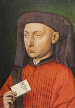 Portrait of Marco Barbarigo, C.1449-50 by Jan van Eyck