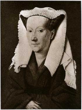 Portrait of Margaret Van Eyck, 1927 by Jan van Eyck