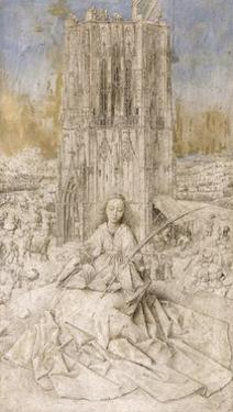 Saint Barbara by Jan van Eyck