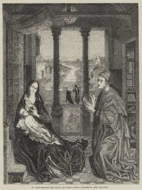 St Luke Drawing the Virgin and Child by Jan van Eyck