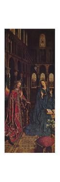 'The Annunciation', 1434-1436 by Jan Van Eyck