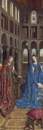 The Annunciation, C. 1434- 36 by Jan van Eyck