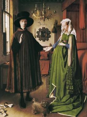 The Arnolfini Portrait by Jan van Eyck