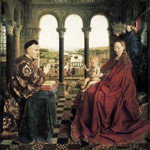 The Rolin Madonna by Jan van Eyck