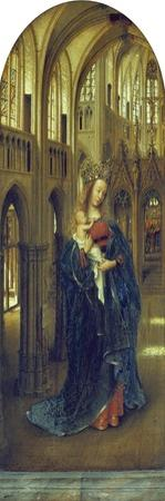 Virgin and Child in a Church by Jan van Eyck