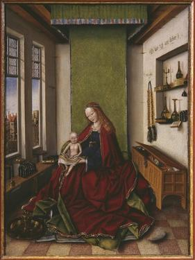 Virgin and Child with a Book by Jan van Eyck