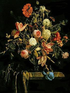Flower Still Life, 1706 by Jan van Huysum