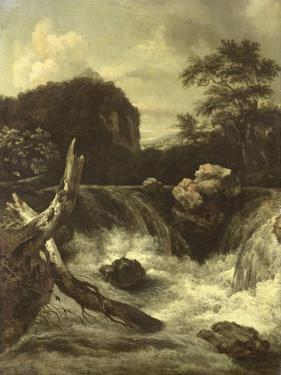 A Waterfall (Cascade) by Jan van Kessel
