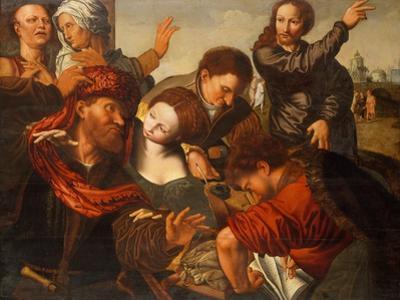 The Calling of Matthew, c.1524-64 by Jan van Sanders Hemessen