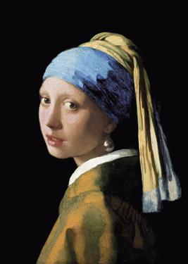 A Girl with a Pearl Earring by Jan Vermeer